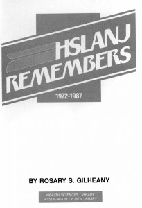 HSLANJ Remembers - 15th Anniversary Booklet